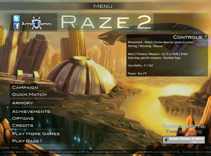 Click to play Raze 2