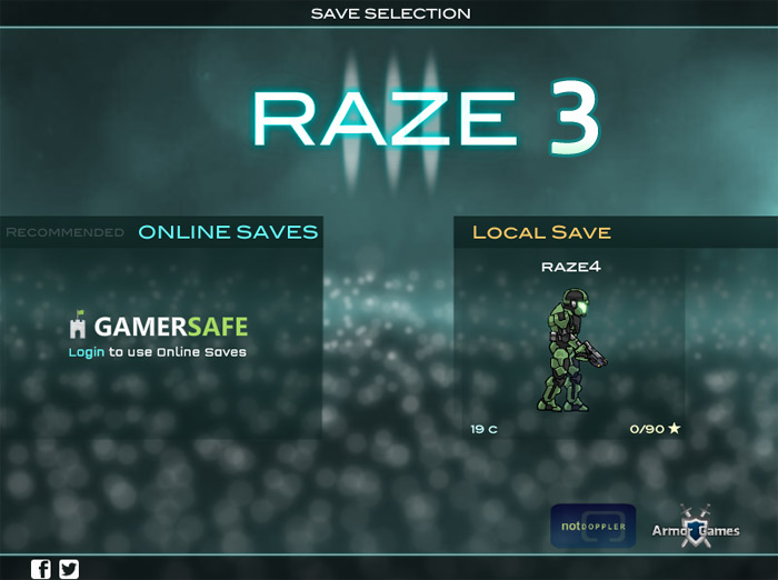 Click to play Raze 3